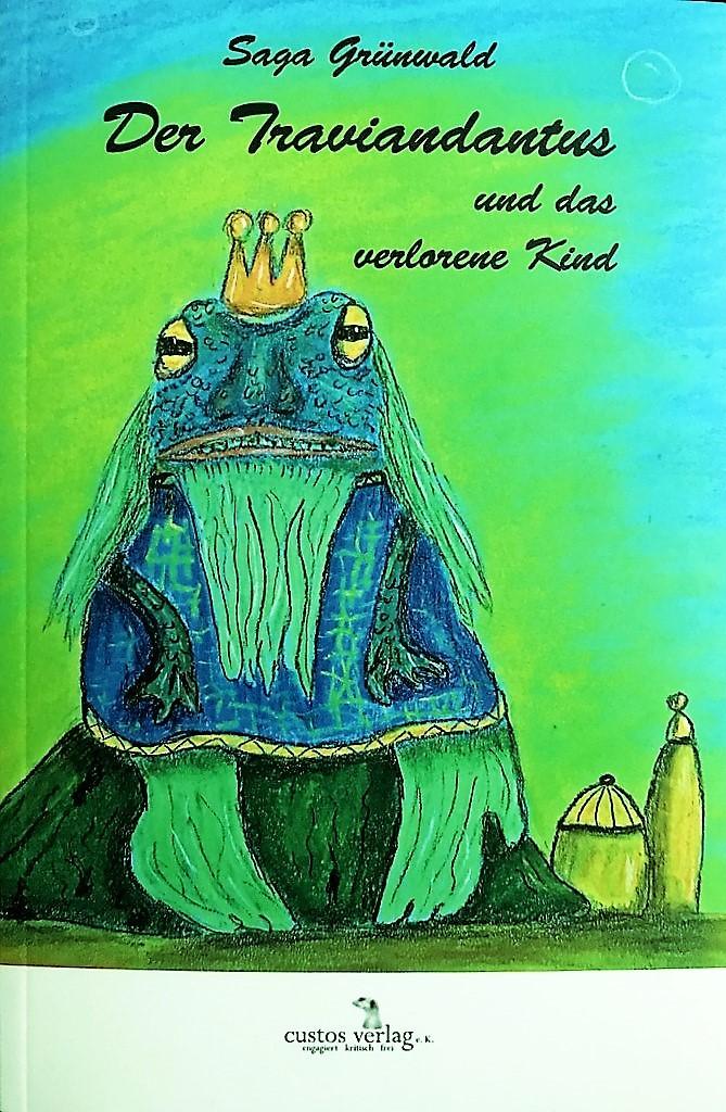 Das Cover des zweiten Bandes zeigt Charlie Greenteeth, den griesgrämigen Wassermann. Das Bild hat die Autorin selbst entworfen. (Foto: © Martina Hörle)