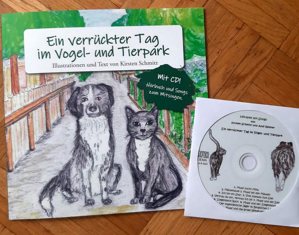 Das Buch mit CD ist an zahlreichen Verkaufsstellen erhältlich. (Foto: © Kirsten Schmitz)