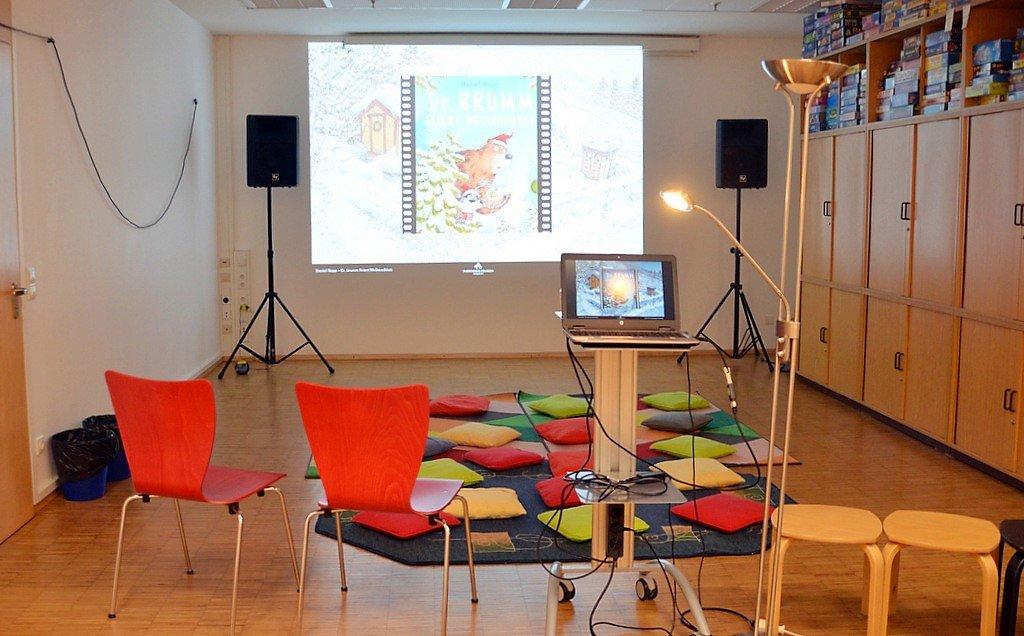Hier werden die wunderschönen Filme gezeigt. Der Raum hat bei vielen Besuchern einen hohen Wiedererkennungseffekt. (Foto: © Martina Hörle)