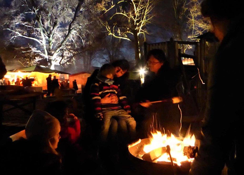 Auch in diesem Jahr findet das beliebte Stockbrotfeuer wieder statt. (Foto: © OWG)