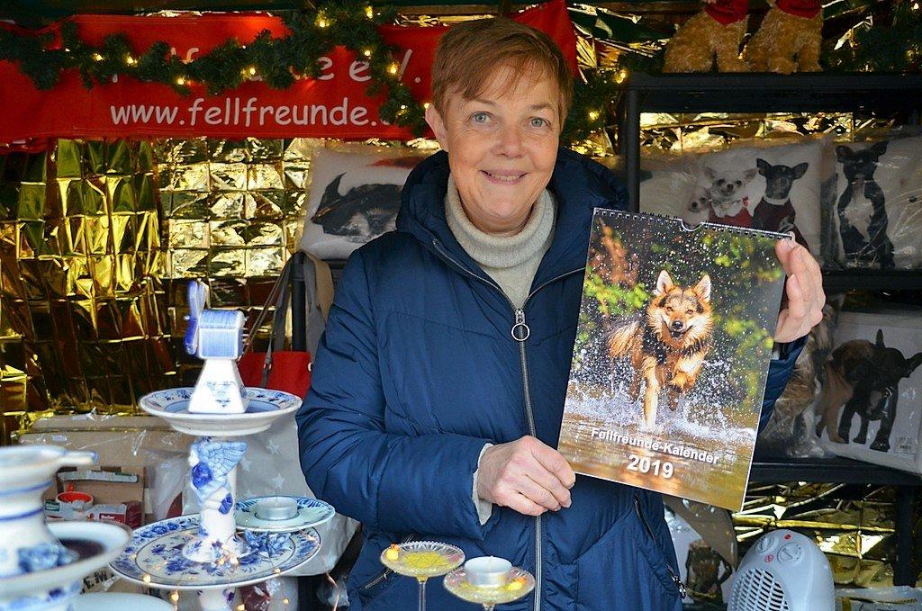 Carola Horlemann vom Verein Fellfreunde ist immer auf der Suche nach Pflegestellen für Not leidende Hunde. (Foto: © Martina Hörle)