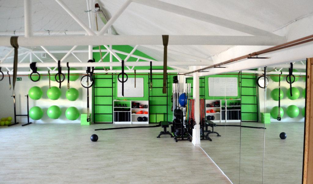 Auf 250 m² werden täglich Trainingsmöglichkeiten angeboten. (Foto: © Martina Hörle)
