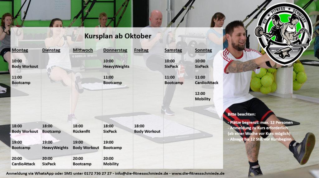 Das aktuelle Kursverzeichnis bietet für jeden Geschmack das passende Training (Foto: © Vivien Kluh)
