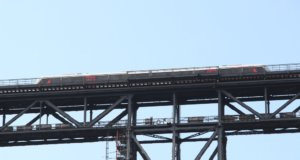 Bis voraussichtlich Anfang Juli wird die S 7 von und nach Remscheid nicht verkehren können, Betreiber Abellio hat einen Schienenersatzverkehr eingerichtet. (Foto: © Bastian Glumm)