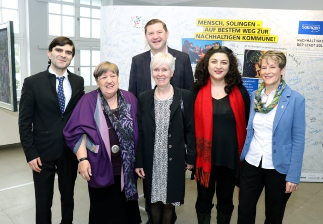 Preisträger des Solinger Agenda-Preises 2018 ist der Verein zur Förderung der Behindertenhilfe in Georgien (VFBG e.V.). (Foto: © Bastian Glumm)