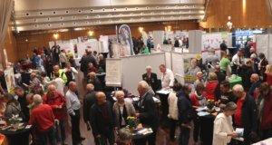 Im Theater und Konzerthaus fand am Sonntag die Seniorenmesse Aktivia statt, 38 Aussteller zeigten ihr breites Produkte- und Dienstleistungsportfolio. (Foto: © Bastian Glumm)