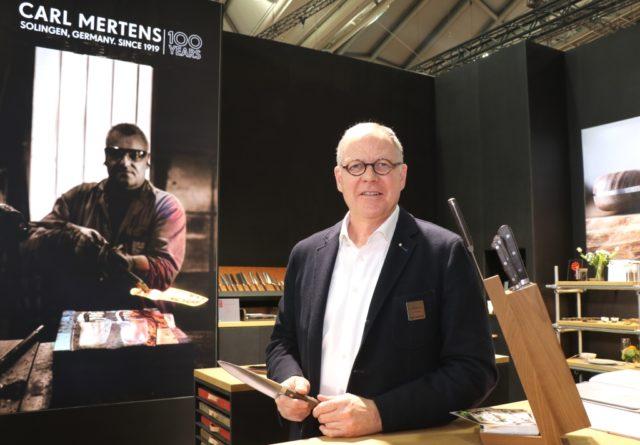 Curt Mertens hat die Geschäftsführung der Firma Carl Mertens abgegeben. (Archivfoto: © Bastian Glumm)
