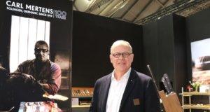 Die Firma Carl Mertens um Geschäftsführer Curt Mertens war auf der Ambiente erstmals in der Halle 3.1 mit einem Stand vertreten. In den Vorjahren stellte das Unternehmen in der Halle 4.1 aus. (Foto: © Bastian Glumm)