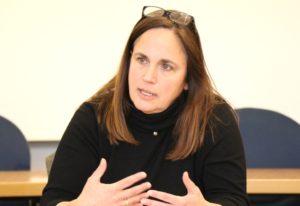 Dr. Annette Heibges ist Leiterin des Gesundheitsamtes in Solingen. (Foto: © Bastian Glumm)