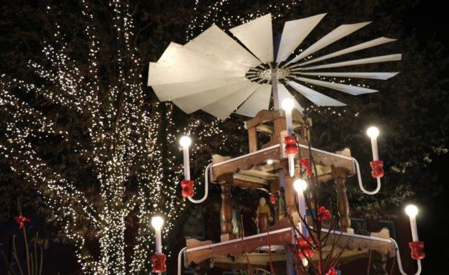 Am 30. November wird auf dem Alten Markt wieder die Weihnachtspyramide angeschoben. (Archivfoto: © Bastian Glumm)