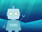 Der AWEOS Facebook-Chatbot heißt Ava und nimmt Besucher in den Alltag der Solinger Werbeagentur mit. (Bild: © AWEOS)