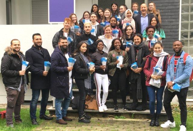Am Mittwoch fand der Begrüßungsvormittag für 30 neue Auszubildende der Diakonie Bethanien am Standort in Solingen-Aufderhöhe statt. (Foto: © Diakonie Bethanien)