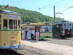 Am langen Wochenende öffneten die Bergischen Museumsbahnen in Kohlfurth zum Pfingsftest ihre Pforten. (Foto: © Tim Oelbermann)