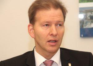 Kämmerer Ralf Weeke ist zudem nebenamtlicher Geschäftsführer der städtischen Beteiligungsgesellschaft. (Foto: © Bastian Glumm)