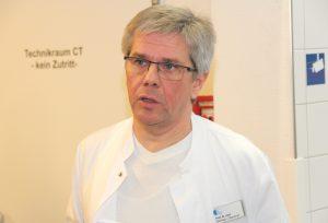 Prof. Dr. Winfried J. Randerath ist Chefarzt der Lungen-Fachklinik Bethanien in Aufderhöhe. (Foto: © B. Glumm)