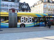 Seit Ende Oktober 2019 sind die ersten BOBs in Solingen auf der Linie 695 unterwegs. (Foto: © Bastian Glumm)