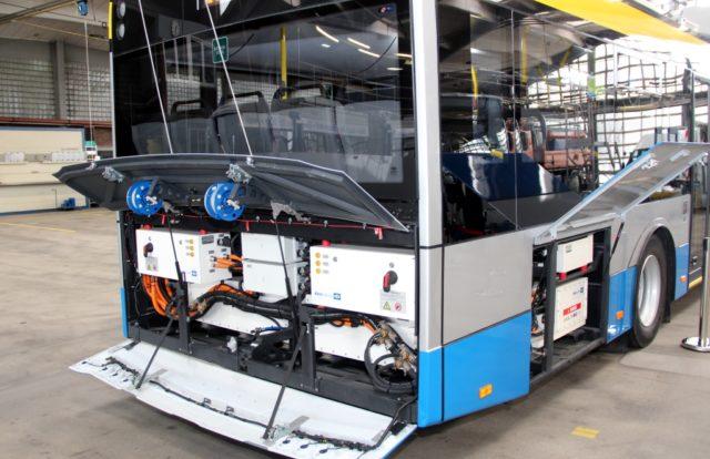 Bei den Vorgängermodellen ist dort das Dieselaggregat. Beim