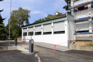 Im Neubau auf dem WMTV-Gelände findet unter anderem eine Erweiterung des Gesundheits- und Fitnessstudios Platz. (Foto: © Bastian Glumm)