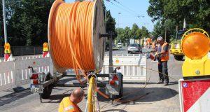 Zur Verbesserung der Standortqualität wurde bereits in Zusammenarbeit mit der Stadtverwaltung und den Technischen Betrieben Solingen das Breitband-Netz ausgebaut. (Archivfoto: © Bastian Glumm)