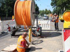 Der Ausbau des Breitband-Netzes in Solingen geht voran. Bei einem aktuellen Städteranking zu den Themen Smart City und Digitalisierung belegt die Klingenstadt Platz 9. (Archivfoto: © Bastian Glumm)