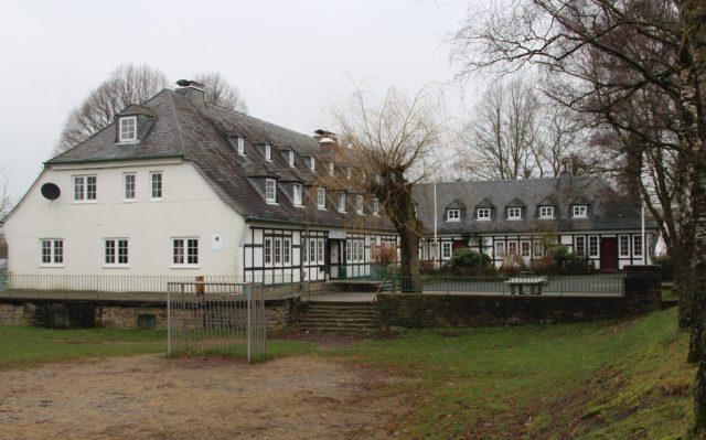 Die ehemalige Jugendherberge in Oberburg. (Archivfoto: © Bastian Glumm)