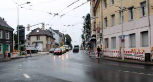 Ab kommende Woche Montag wird an vier Nächten die Fahrleitung auf einem Stück der Wuppertaler Straße ausgetauscht. (Archivfoto: © Bastian Glumm)