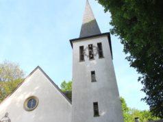 Die Christuskirche in Rupelrath an der Opladener Straße. (Archivfoto: © Bastian Glumm)