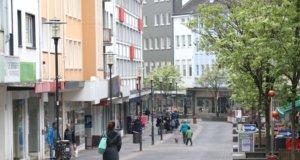 """Die Stadtverwaltung stellte jetzt ein Handlungskonzept für die Solinger Innenstadt unter dem Titel """"City 2030"""" vor. In den nächsten Jahren wird es in der Innenstadt drastische Änderungen geben. (Foto: © Bastian Glumm)"""