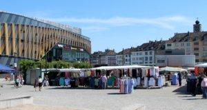Die Entscheidung im Vergabeverfahren um die Konzession für die drei Wochenmärkte in Mitte, Ohligs und Wald ist gefallen. (Archivfoto: © Bastian Glumm)