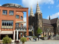 Die Clemenskirche im Herzen der Solinger Innenstadt. (Archivfoto: © B. Glumm)