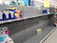 Das Coronavirus sorgt auch in Solingen für erhebliche Verunsicherung unter der Bevölkerung. Teilweise kam und kommt es zu Hamsterkäufen in den Supermärkten. (Foto: © Bastian Glumm)