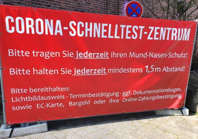 Auch in Ohligs eröffnet jetzt ein Corona-Schnelltestzentrum. (Archivfoto: © Bastian Glumm)