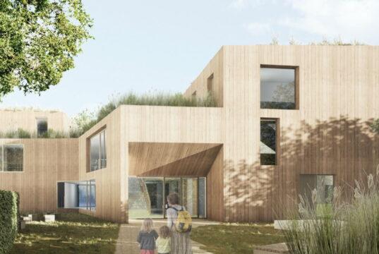 Holten den ersten Preis beim Wettbewerb: Schilling Architekten, Köln, und Studio Grijsbach Landschaftsarchitektur, Bergisch-Gladbach. (Bild: © SEG)