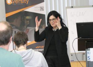 Die Wuppertalerin Anita Ranzan von Moogiesart Consulting ist Expertin in Sachen Digitalisierung und Kommunikation. (Foto: © Bastian Glumm)