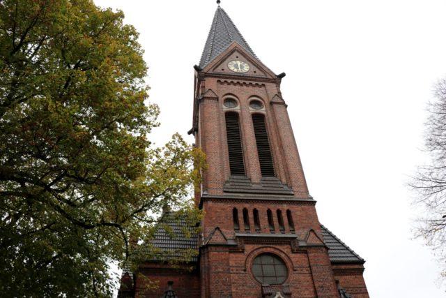 Die Merscheider Kirche an der Hofstraße in Solingen. (Foto: © Bastian Glumm)