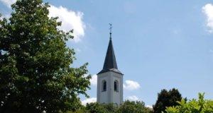 Die Evangelische Kirche in Widdert an der Lacher Straße. (Foto: © Kristina Ziegenbalg)