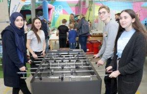 Der Felix-Kids Club kam am Montag mit insgesamt 16 Personen ins Remscheider Hugodrom, die Kids waren vom Familientag begeistert. (Foto: © Bastian Glumm)