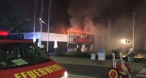 In einem asiatischen Restaurant an der Landstraße in Haan ist in der vergangenen Nacht ein Brand ausgebrochen. (Foto: © Feuerwehr Haan)