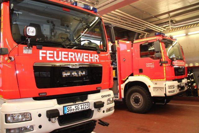 Unbekannte brachen in der Nacht in das Gerätehaus der Löscheinheit 5 an der Bismarckstraße ein und klauten ein Löschfahrzeug. (Symbolfoto: © B. Glumm)