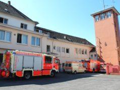 Die Feuer- und Rettungswache I der Feuerwehr Solingen an der Katternberger Straße. (Foto: © Bastian Glumm)