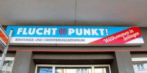 """Das Beratungs- und Orientierungszentrum """"Flucht-Punkt!"""" an der Konrad-Adenauer-Straße. (Archivfoto: © Bastian Glumm)"""