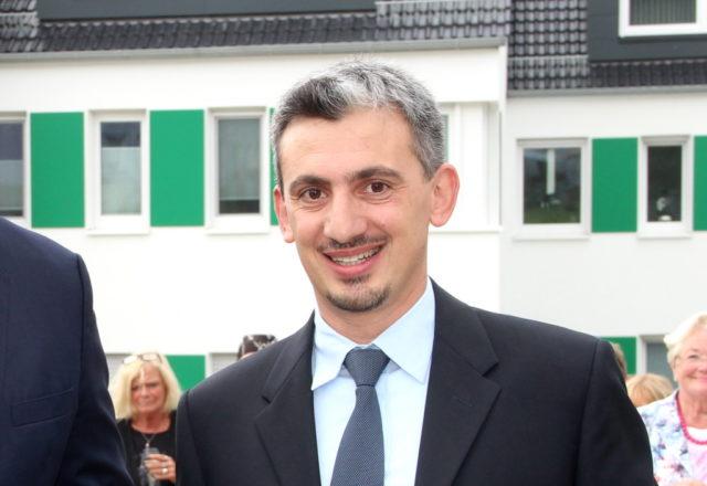 Francesco Cinquegrani ist Vorstandsvorsitzender des Gräfrather Bauvereins. (Archivfoto: © Bastian Glumm)