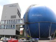 Das Galileum Solingen wurde am 5. Juli 2019 im stillgelegten Kugelgasbehälter in Ohligs als interaktive Erlebniswelt aus Planetarium und Sternwarte eröffnet. (Foto: © Bastian Glumm)