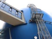 """Mit einem Planetarium in einem ehemaligen Kugelgasbehälter habe man ein """"Unikat"""" geschaffen, das weltweit seinesgleichen suche, ist man sich bei der Walter-Horn-Gesellschaft sicher. (Foto: © Bastian Glumm)"""