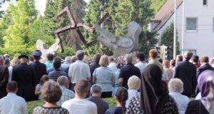 Am 29. Mai wird in Solingen zum 25. Mal der Opfer des Mordanschlags von 1993 gedacht. (Archivfoto: © Bastian Glumm)