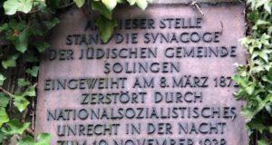 Das Gedenken an die Opfer der Reichspogromnacht vom 9. November 1938 muss coronabedingt dieses Jahr in anderer Form stattfinden. (Archivfoto: © Bastian Glumm)