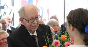 Solingens langjähriger Oberbürgermeister Gerd Kaimer, hier während des Empfangs anlässlich seines 90. Geburtstag, verstarb am 11. Dezember 2016. (Archivfoto: © B. Glumm)