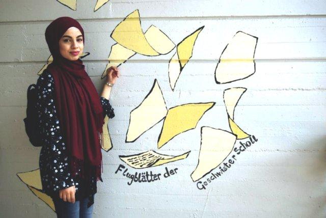 Lujain Al Khalaf kam vor drei Jahren aus Syrien nach Solingen. Die 17-jährige Schülerin der