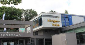 Klingenbad und Klingenhalle am Weyersberg. (Archivfoto: © Bastian Glumm)