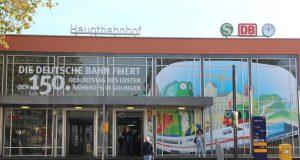 Der Solinger Hauptbahnhof, vormals Bahnhof Ohligs und Bahnhof Solingen-Ohligs, wird in diesem Jahr 150 Jahre alt. Die Ohligser Jongens laden am 29. Oktober zur Feier ein. (Foto: © B. Glumm)